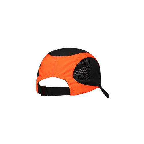 HRX by Hrithik Roshan Men Black & Orange Colourblocked Cap