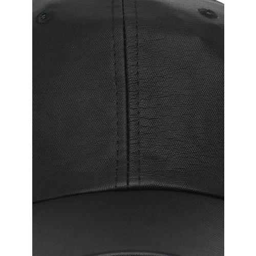 FabSeasons Unisex Black Solid Baseball Cap