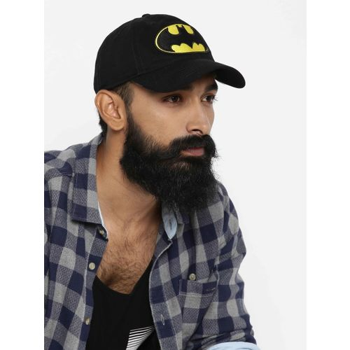 Kook N Keech Batman Men Black & Yellow Cap