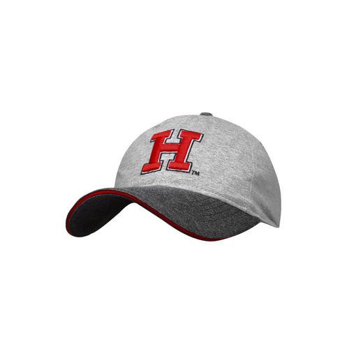 Harvard Grey Cotton Casual Cap