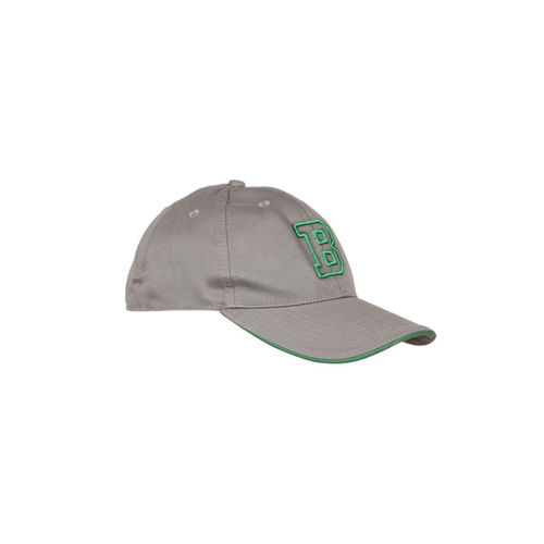 Buy United Colors of Benetton Unisex Grey Embroidered Baseball Cap ... 4bdc7171dde5