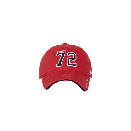 361b177b8a6 ... Baseball Cap  Sportigoo Men Red   Black Solid Baseball ...