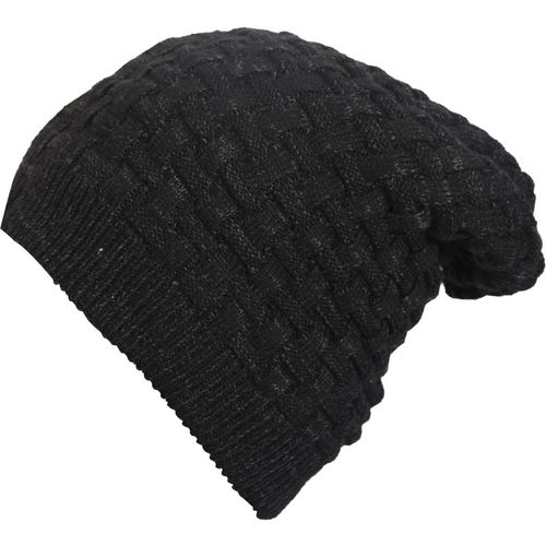 3bc06462c Buy FabSeasons Unisex Acrylic Woolen Slouchy Beanie and Skull Cap ...