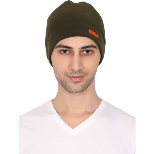 255b9fa7a8eb4 Buy FabSeasons Solid Unisex Fleece Winter skull   Helmet cap Cap online