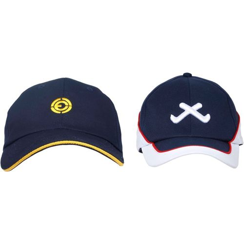0ea1ad5cadbf6 Buy Ojass Embroidered 3D Cap(Pack of 2) online