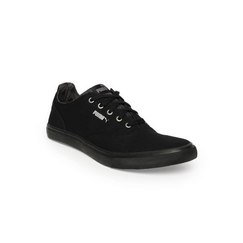 Puma  Black Pop X IDP Canvas Shoes For Men