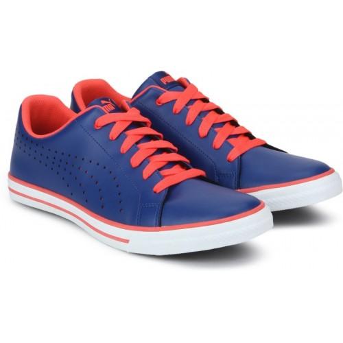 Puma Blue Sneakers For Men