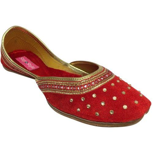 214921a4171b Step N Style Punjabi Jutti Flat Shoes Wedding Shoes Khussa Shoes Indian  Shoes Juti Jutis For
