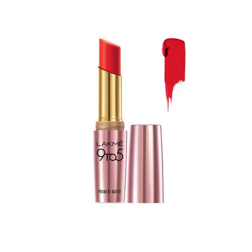 Lakme MR9 Red Letter 9 to 5 Primer + Matte Lip Color 3.6 g