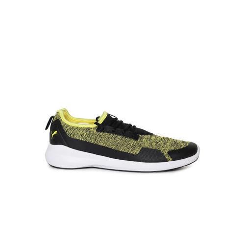Puma Yellow Running Shoes For Men