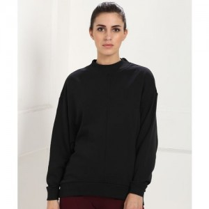 REEBOK Full Sleeve Solid Women's Sweatshirt