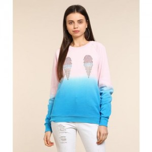 Forever 21 Full Sleeve Embellished Women's Sweatshirt
