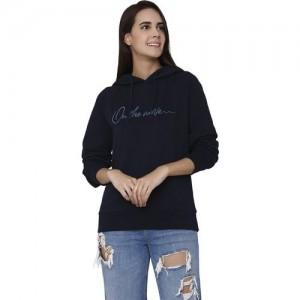 Vero Moda Full Sleeve Printed Women Sweatshirt