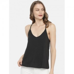 7f5f3266f897f9 ONLY Women Black Tank Top. ₹699 2 Stores. 2Go Casual Sleeveless Solid Women Orange  Top