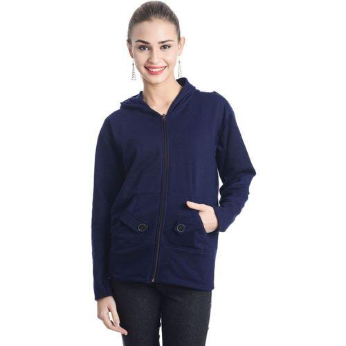 Bonita Full Sleeve Solid Women's Sweatshirt