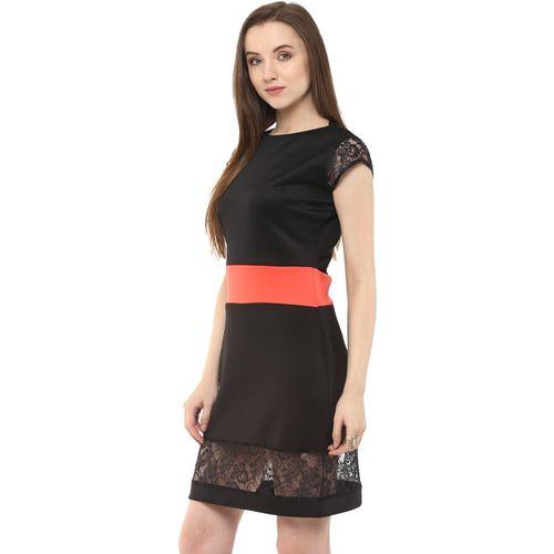Zima Leto Women's Shift Black Dress