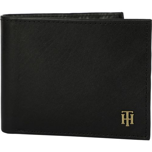 d3ad4fd865 Buy Tommy Hilfiger Men Black Genuine Leather Wallet(4 Card Slots) online |  Looksgud.in