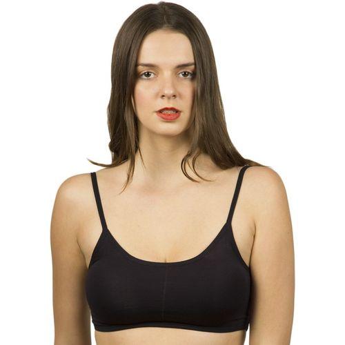 The Bling Stores Women's Sports Non Padded Bra(Black)