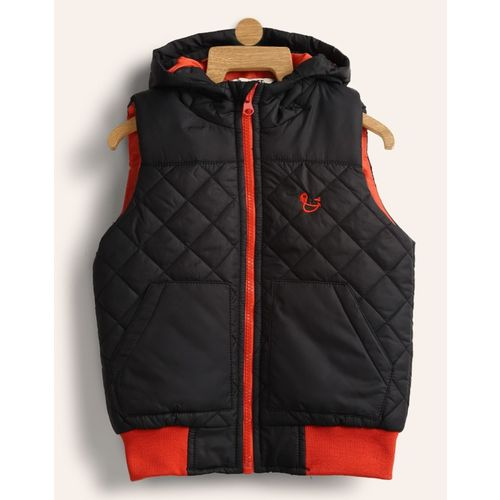 Miss & Chief Sleeveless Solid Boys Jacket