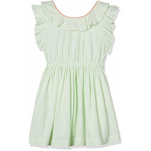 United Colors of Benetton Girl's Bubble Hem Knee-Long Dress