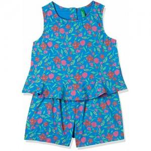 United Colors of Benetton Girls' Regular Fit Jumpsuit