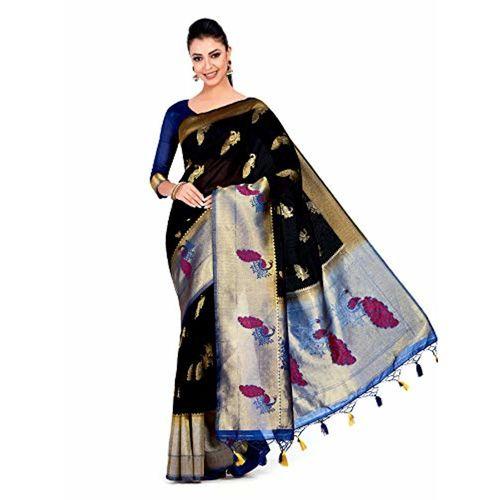 f2a3ee40094ccb ... MIMOSA Mimosa Wedding Art Silk saree Kanjivaram Style With Blouse light  weight saree (4372- ...