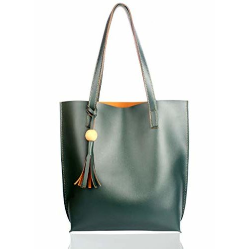 Mammon Women's Handbag (plain-green,35x35 Cm)