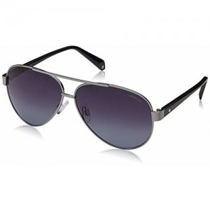 Polaroid Polarized Aviator Unisex Sunglasses - (PLD 4061/S 6LB 61WJ|61|Grey Color)