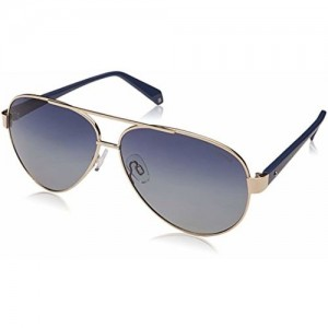 21058164dc Buy Polaroid Polarized Aviator Unisex Sunglasses - (PLD 4061 S 6LB ...