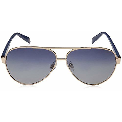 Polaroid Polarized Aviator Unisex Sunglasses - (PLD 4061/S 3YG 61Z7|61|Blue Color)