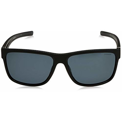 Polaroid Polarized Rectangular Men's Sunglasses - (PLD 7014/S 807 59M9|59|Grey Color)