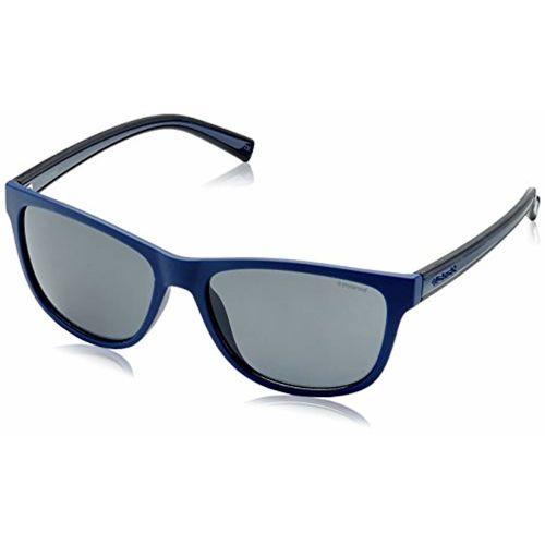 Polaroid Polarized Rectangular Men's Sunglasses - (PLD 2009/S QJW 57Y2|57|Grey Color)