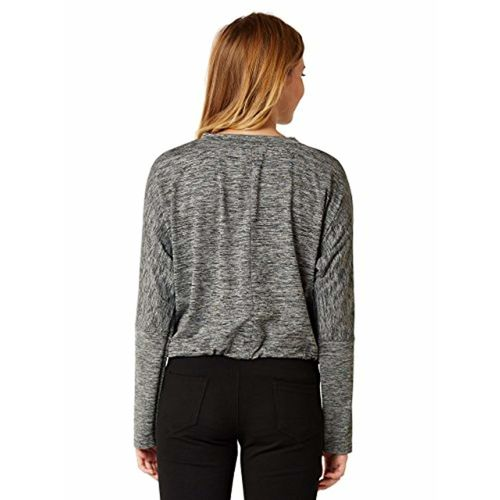 Miss Chase Women's Grey Tie-Up Top