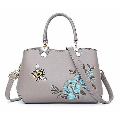62772c47fb5 Buy MOCA Womens Ladies Designer Floral Shoulder Hand Bag Handbags ...