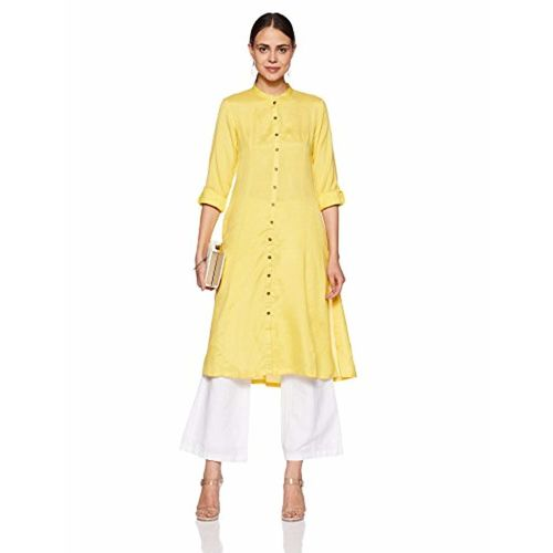 BIBA Cotton Regular Fit Angrakha Kurta