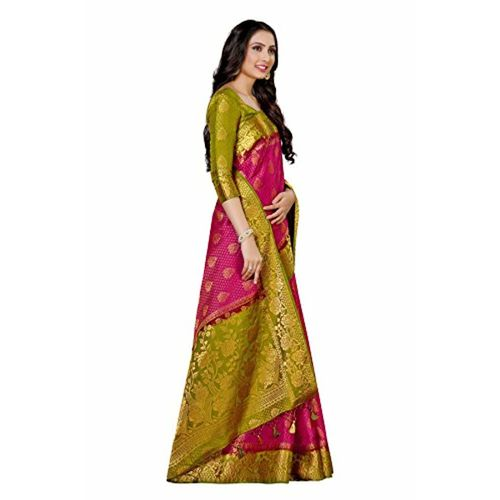 2136ec0bd2897d ... MIMOSA Mimosa Women s Art Silk Saree With Blouse Piece (4011-213-2D- ...