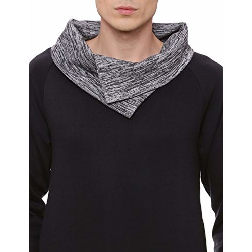 Campus Sutra Men's Cowl Neck Sweatshirt