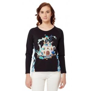Chumbak Tea Garden Knit T-shirt