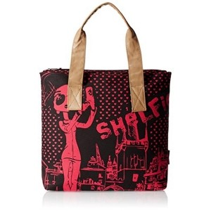 Kanvas Katha Multi Colored Leather Printed Women's Tote Bag