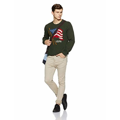US Polo Association US Polo Men's Wool Sweater