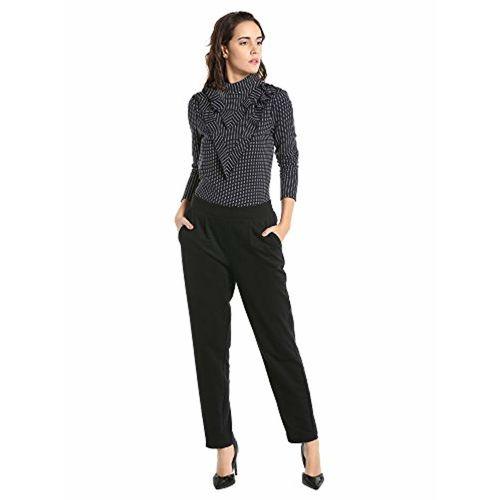 VERO MODA Women's Skinny Fit Cotton Pants