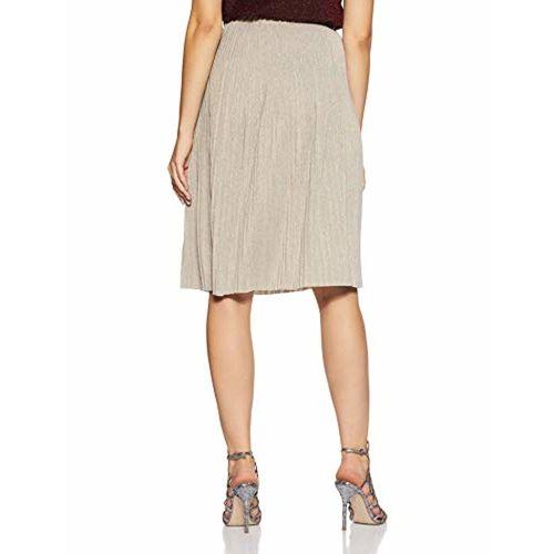 VERO MODA Women's Pleated Midi Skirt