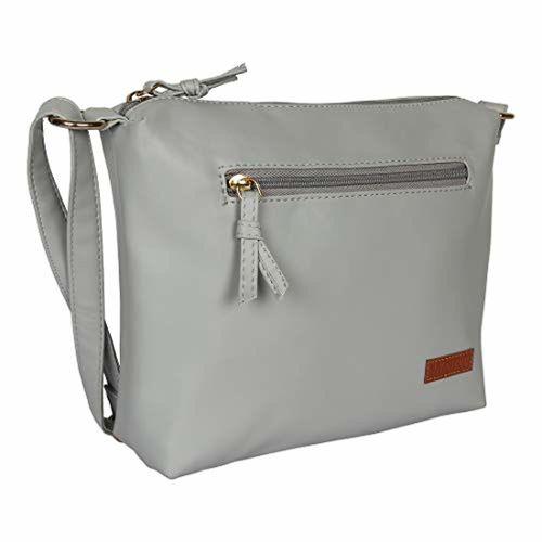 Lychee bags LYCHEE BAGS WOMENS GREY PU SLING BAG