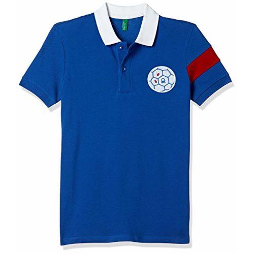 United Colors of Benetton Boys' Plain Regular Fit Polo