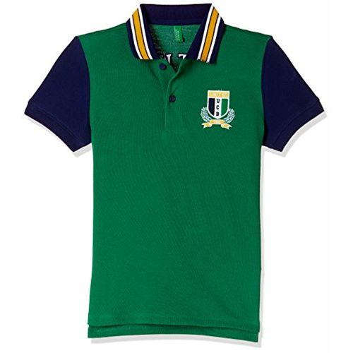 United Colors of Benetton Boys' Plain Regular Fit Polo