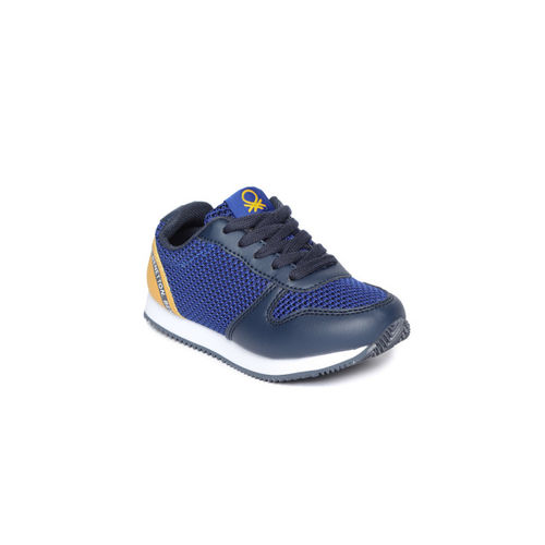 United Colors of Benetton Kids Navy Blue Sneakers