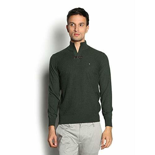 blackberrys Olive Cotton Sweater