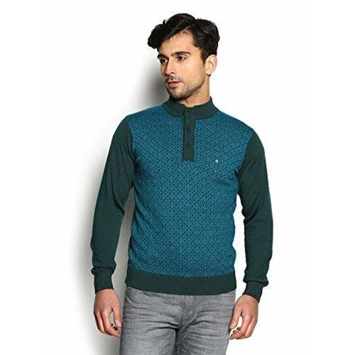 blackberrys Blue Cotton Sweater