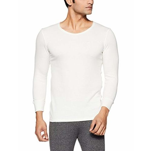 ONN Men's Solid Cotton Thermal Top