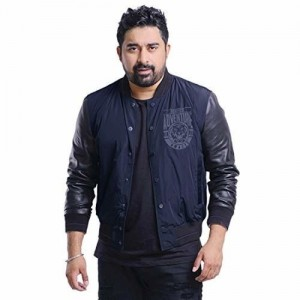 ROADIES by JUSTANNED Navy Blue Nylon Jacket